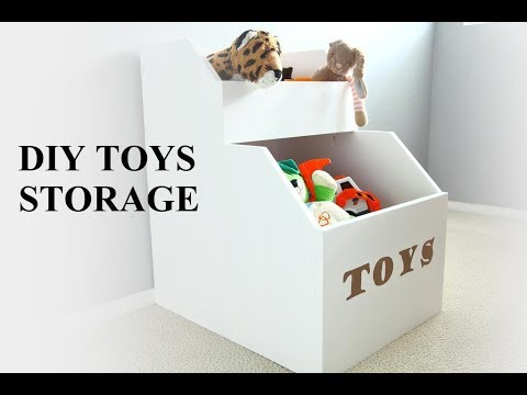 How to Build a DIY Storage for Toys
