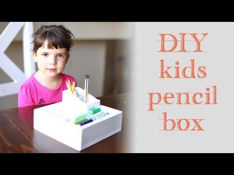 How to Build a DIY Wood Pencil Box
