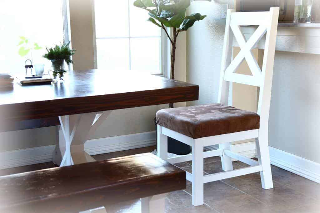 DIY Farmhouse Chair