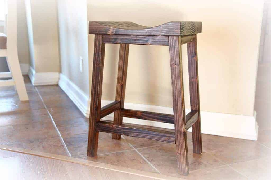 How To Build A Diy Bar Stool Free Plans Thediyplan