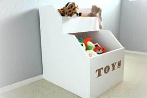 DIY Storage for Toys
