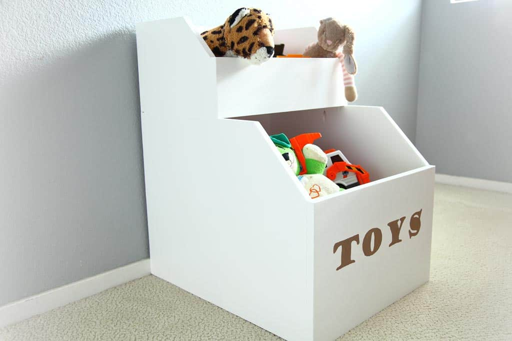 DIY Storage for Toys