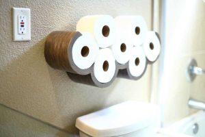 DIY Cloud Toilet Paper Storage