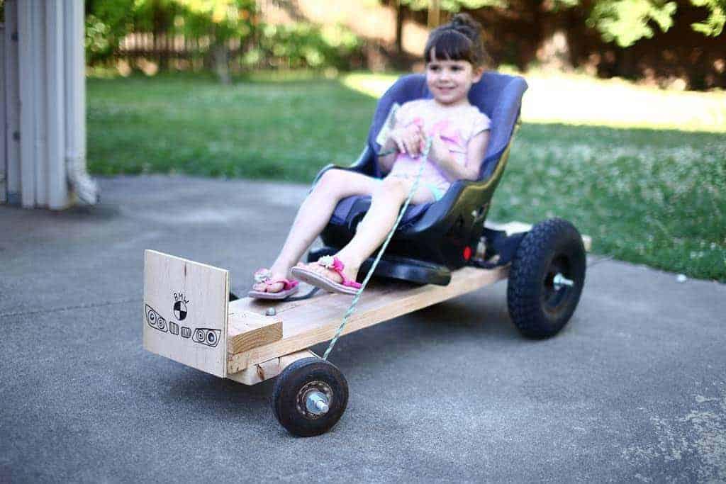DIY Wood Go-Kart