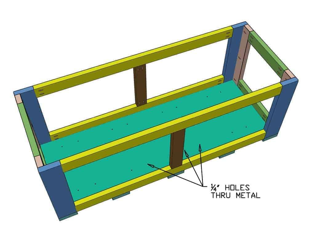 How To Build Outdoor Diy Planter Box Thediyplan