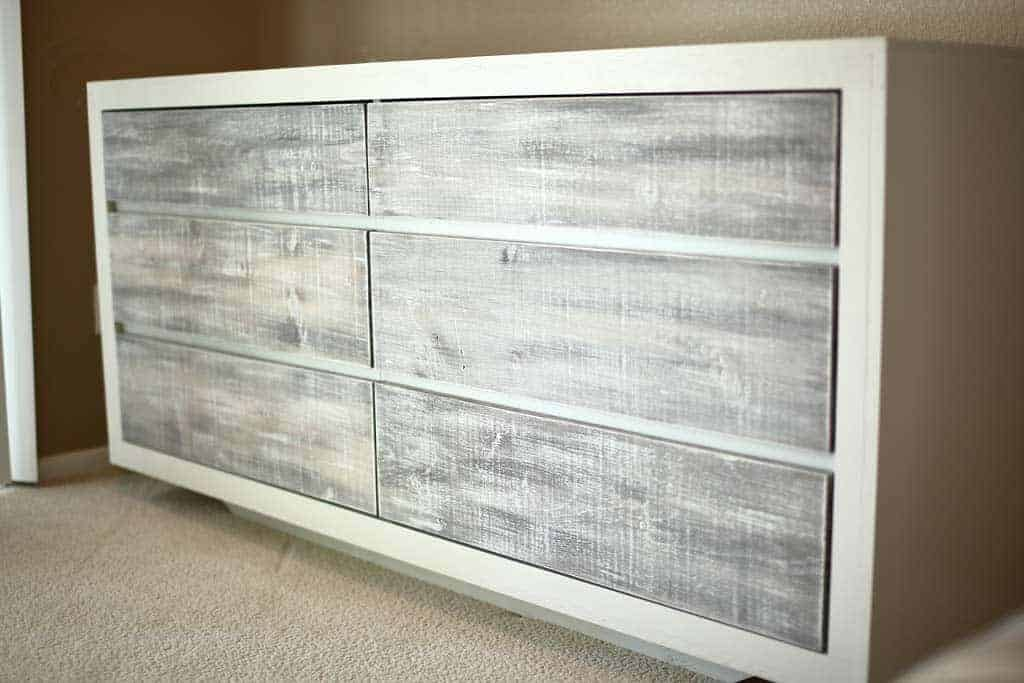 How To Build A Diy 6 Drawer Dresser