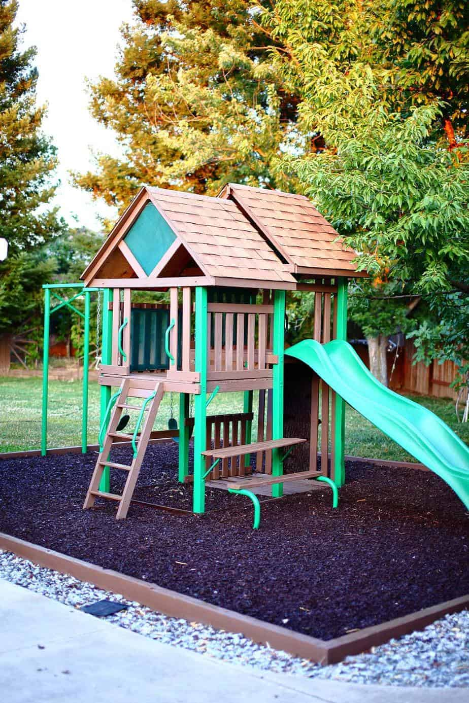How To Build A Diy Backyard Playground For Kids Thediyplan