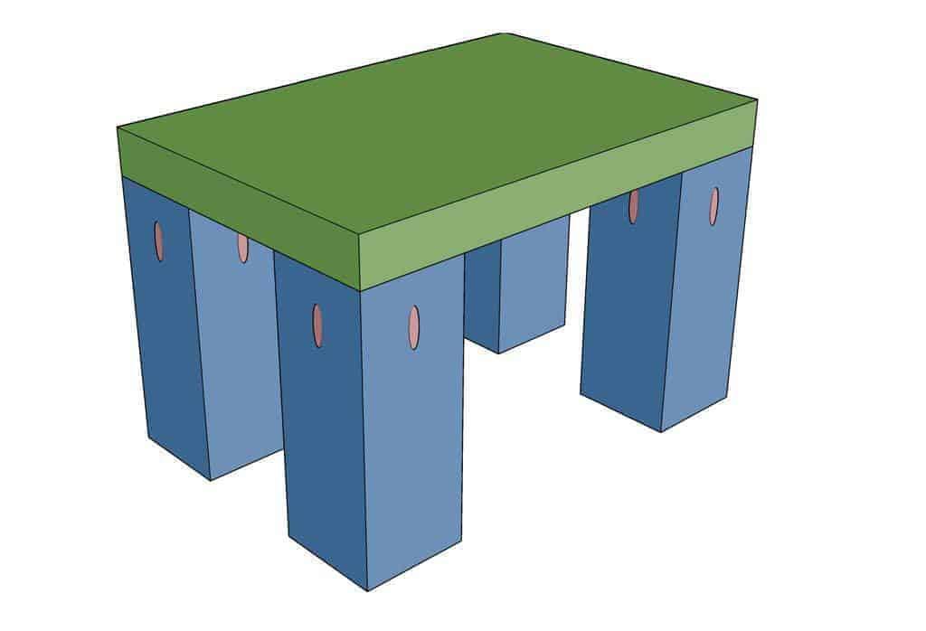 diy step stool for kids