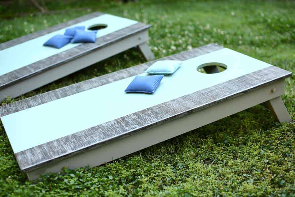 graphic relating to Printable Cornhole Rules named How towards Produce Do it yourself Cornhole Community forums - TheDIYPlan