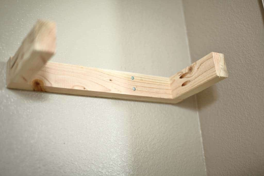 frame for a floating shelf
