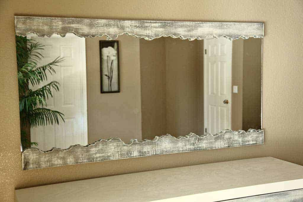 DIY Live Edge Mirror