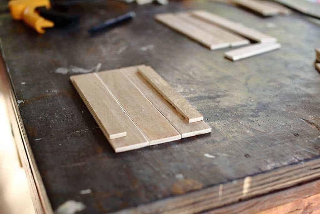assembling the side panel