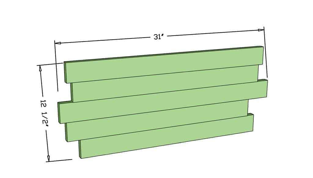 diy rustic kitchen sign dimensions