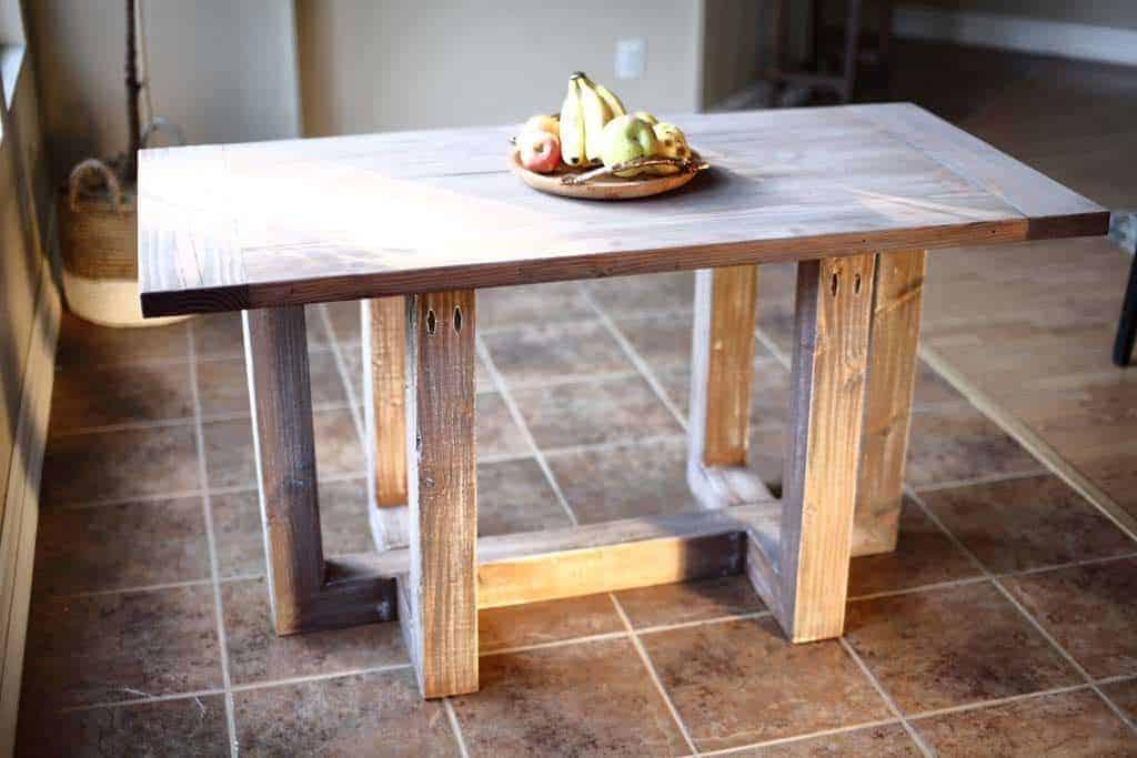 DIY Breakfast Table