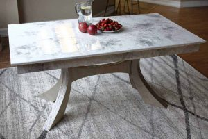 DIY Kitchen Table with Epoxy