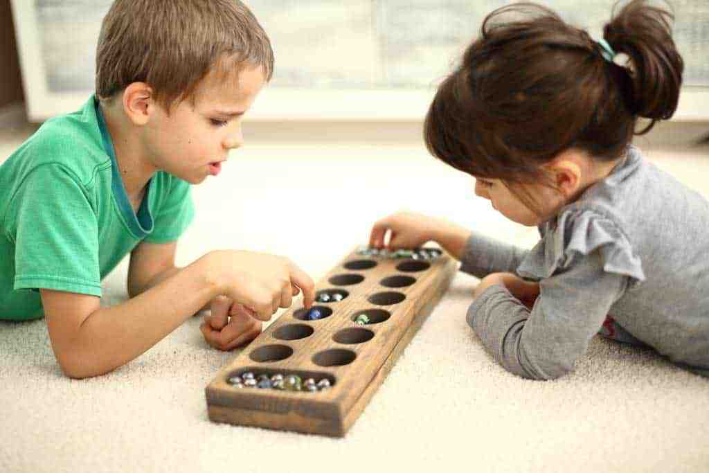 DIY Mancala Board Game
