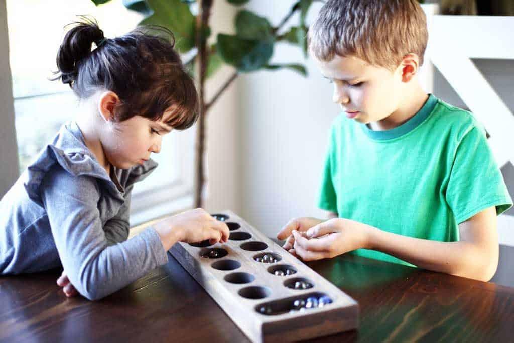 DIY Mancala Board Game