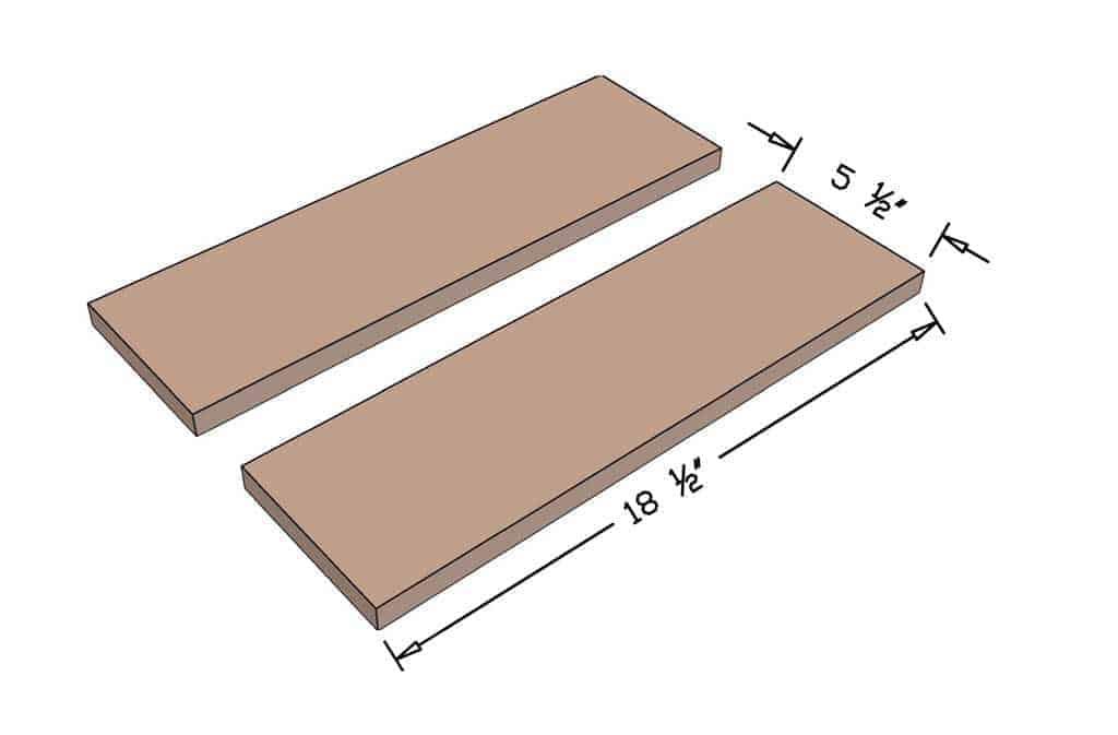 cut boards for the DIY Mancala Board Game
