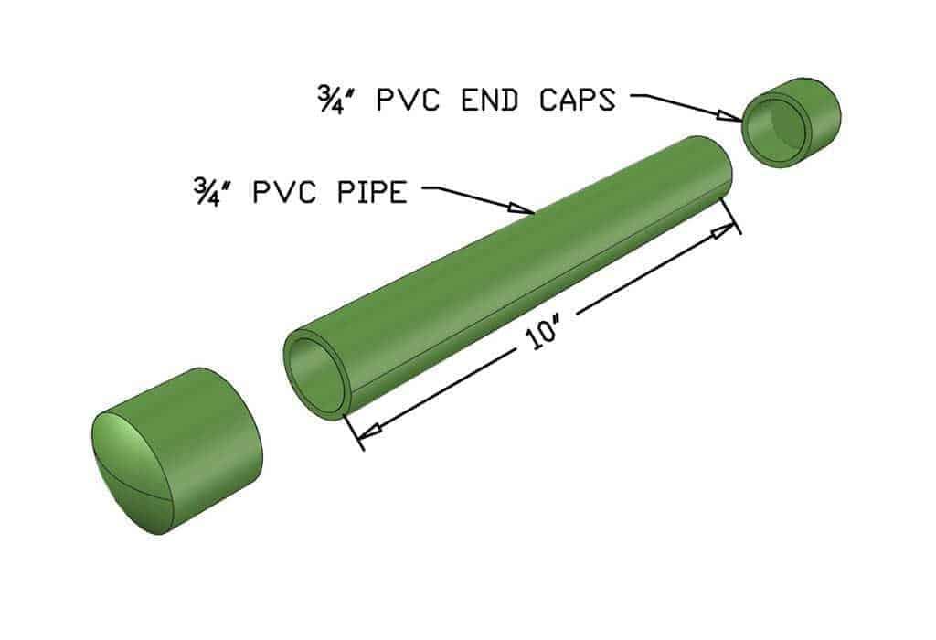 pvc pipe for DIY Napkin Holder