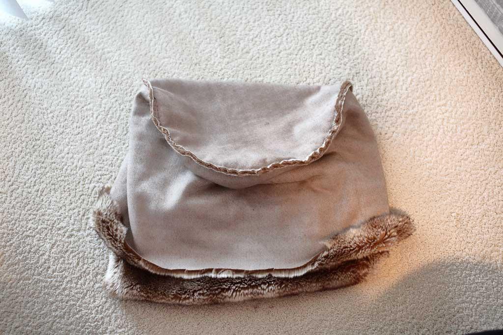 fabric for DIY Ottoman Pouf