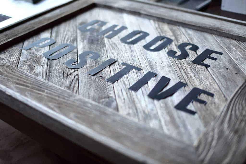 DIY Reclaimed Wood Frame Sign