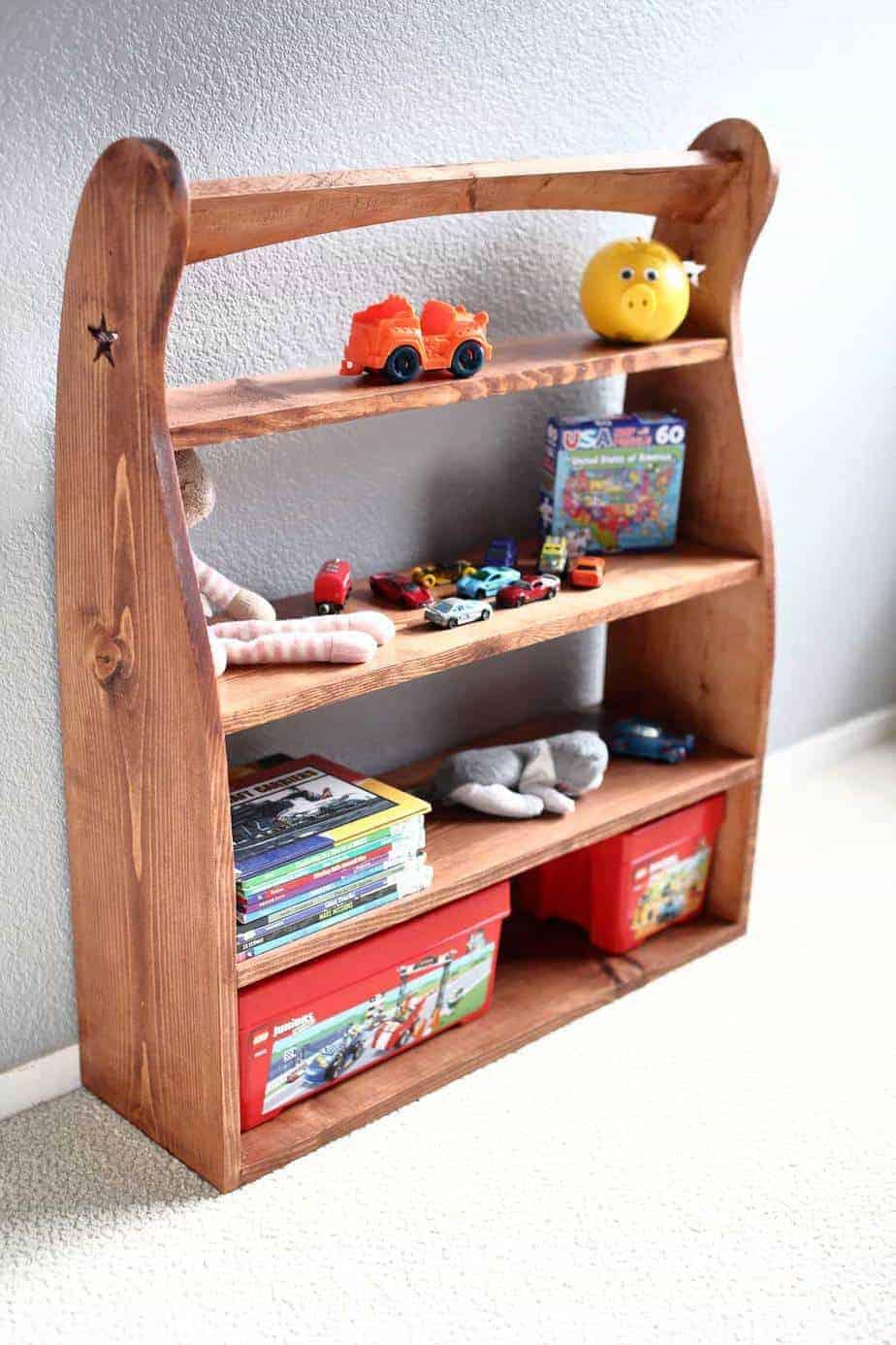 DIY Curved Shelf