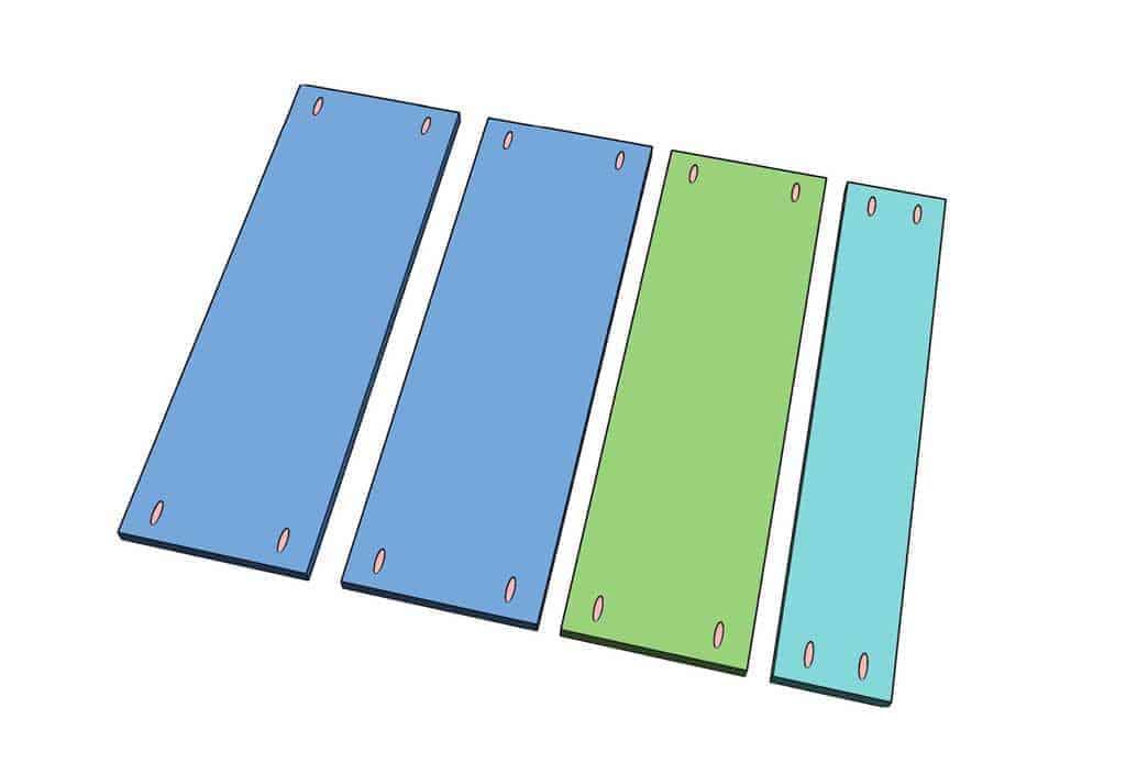 pocket hole for shelf boards
