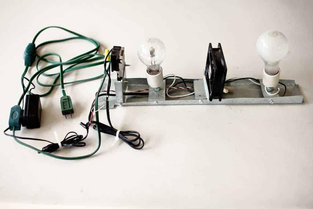 wiring for incubator