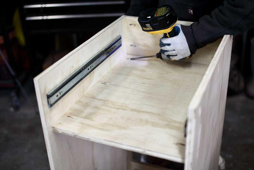 using pocket hole screws in plywood