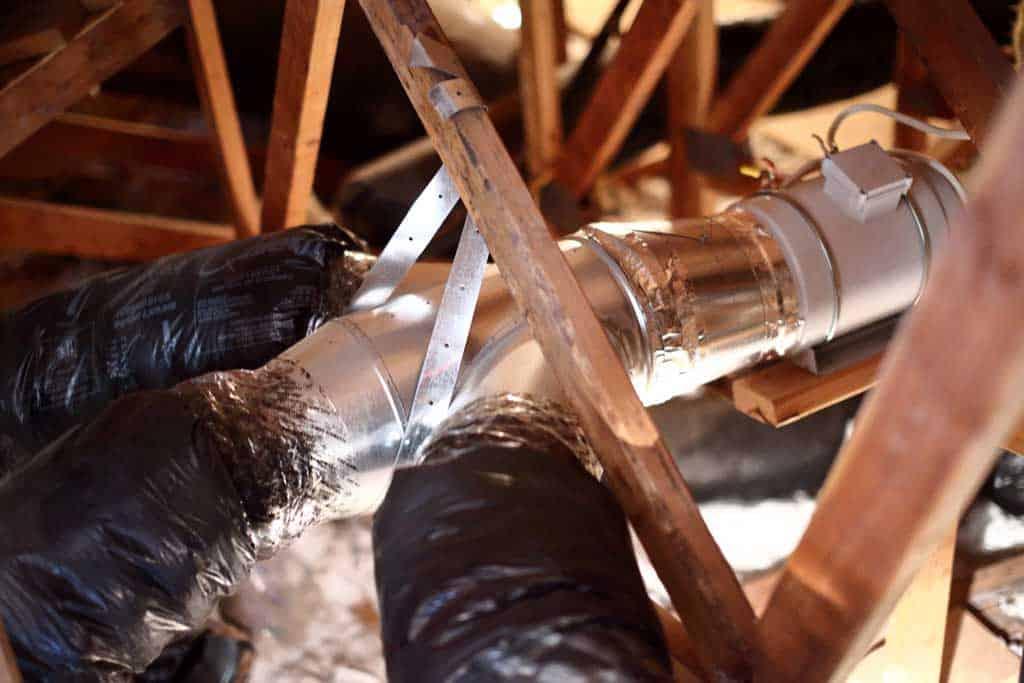 Muti-room whole house fan