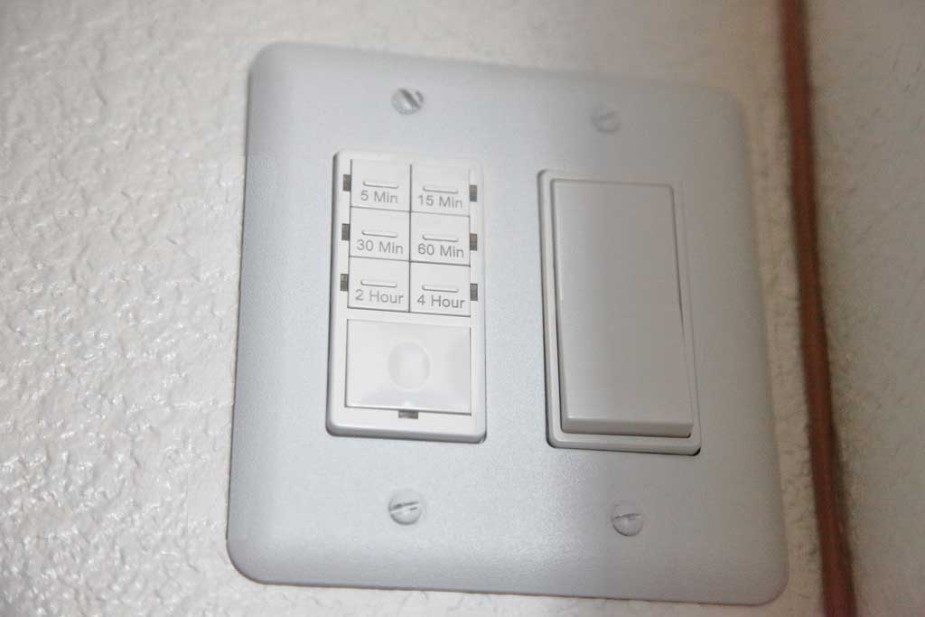 switch for whole house fan
