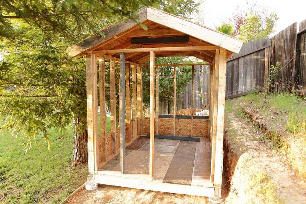 DIY Chicken Coop frame