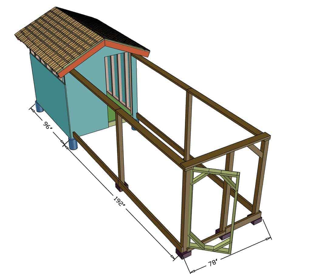 DIY Chicken Coop Dimensions