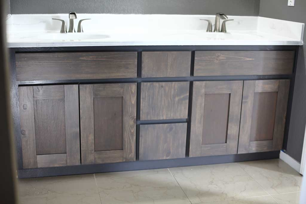 Diy Cabinet Doors And Drawer Covers For Bathroom Vanity Thediyplan