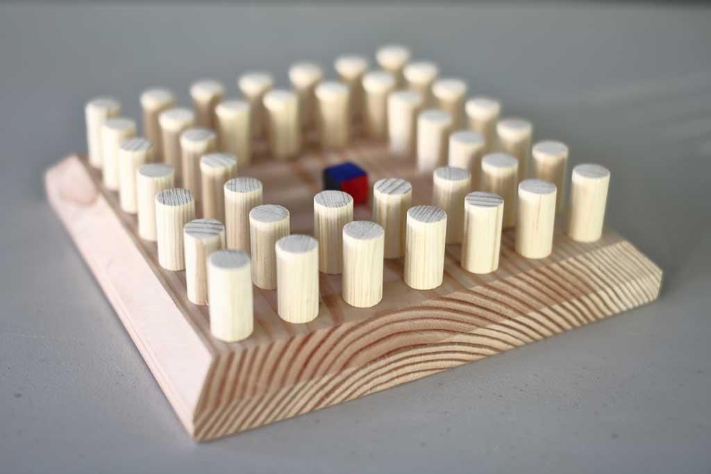 DIY memory chess game