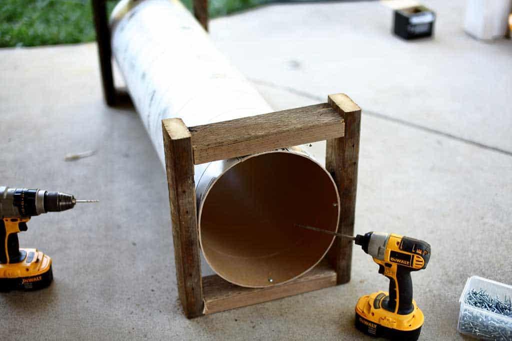 DIY skunk trap