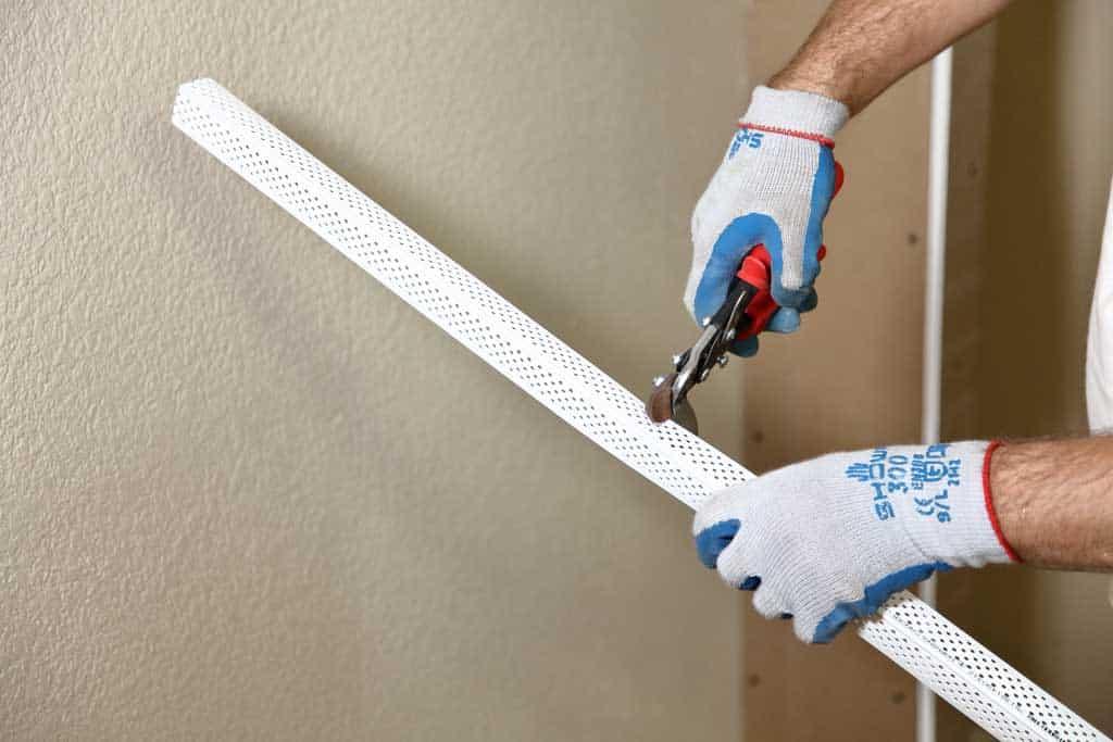 cutting corner band for drywall