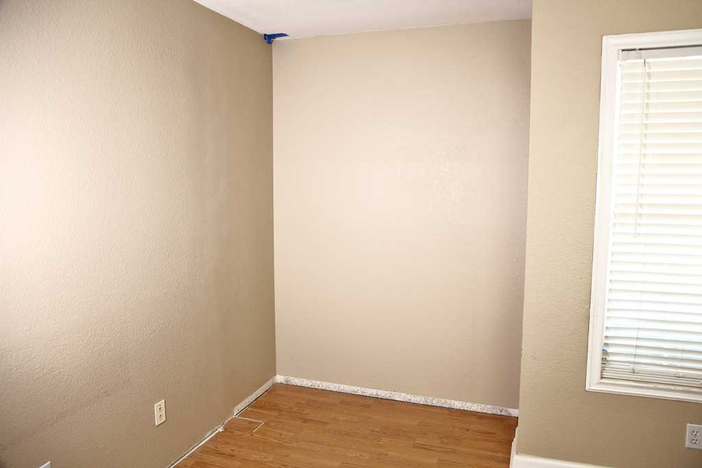 room without a closet