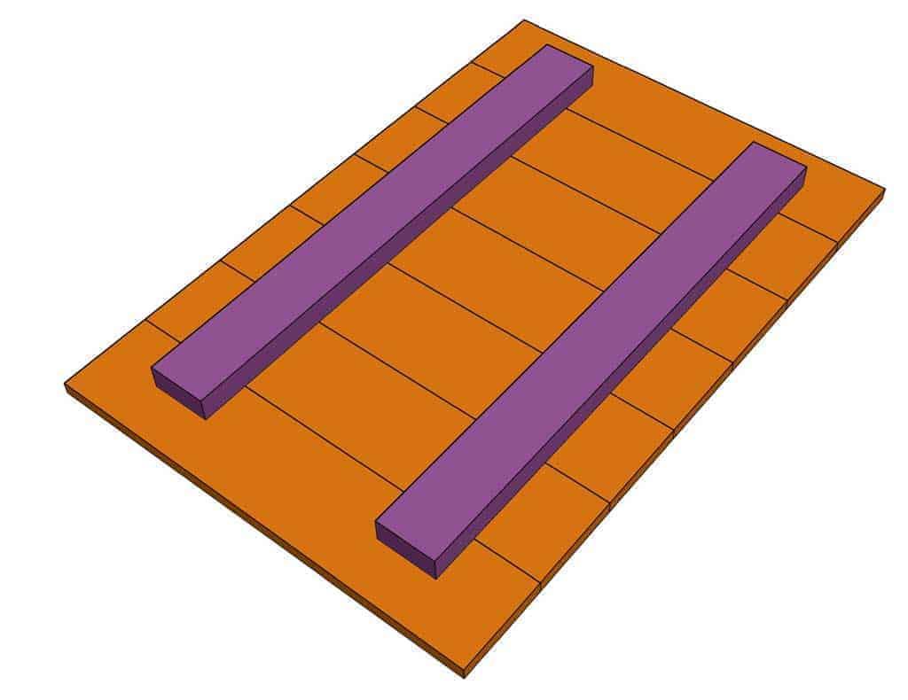 DIY Sandbox Table lid