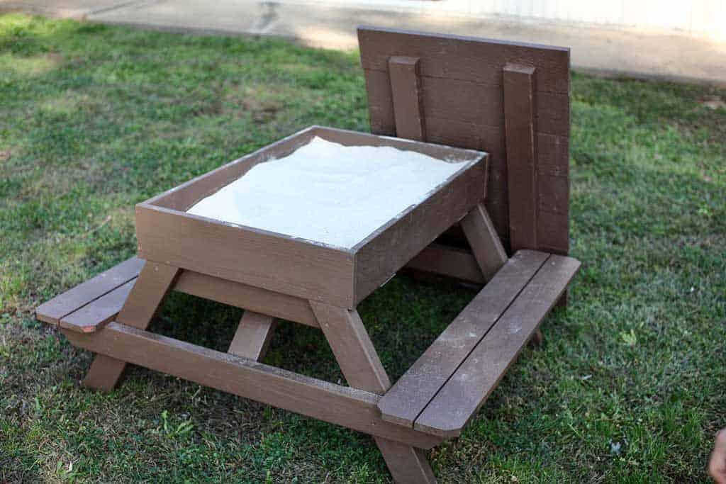 DIY Sandbox Table