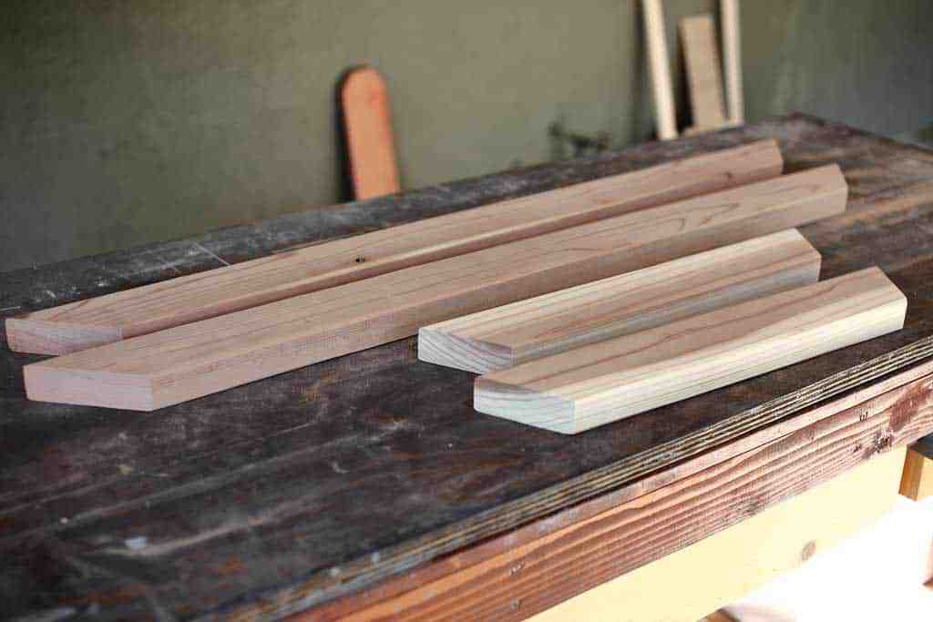 redwood boards for the sanbox