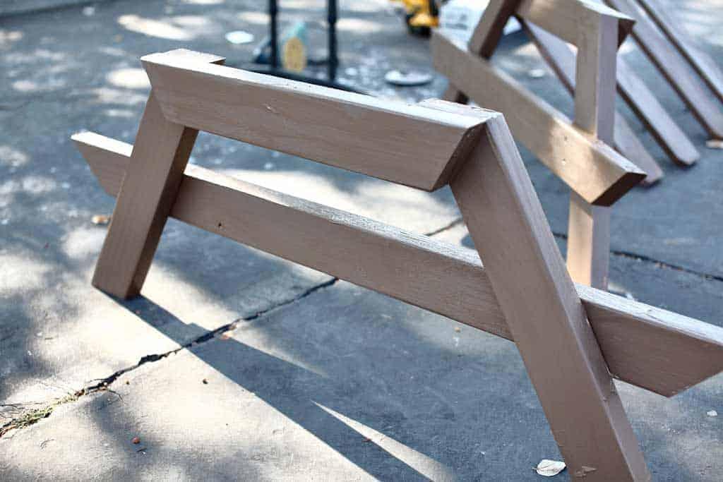 legs for the DIY Sandbox Table