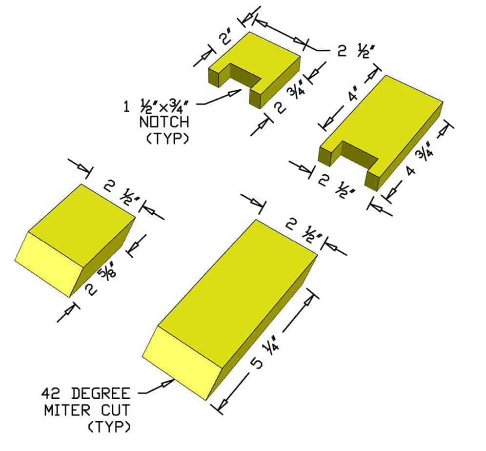 spacer jigs for attaching balusters
