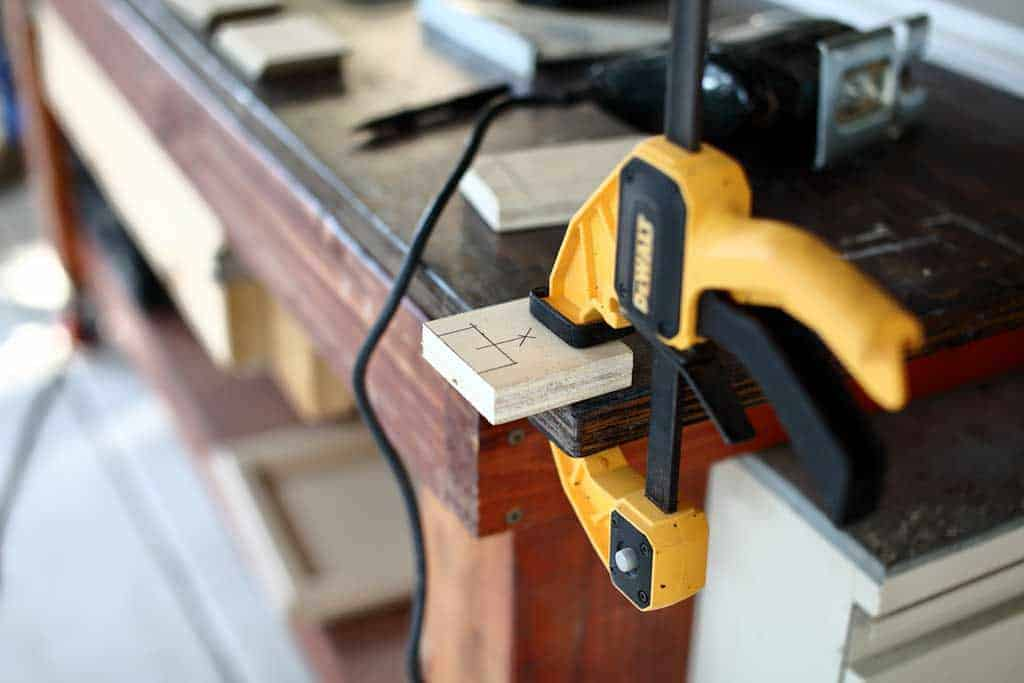 making a spacer jig for diy staircase railing