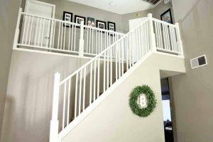 DIY Custom Staircase Railing