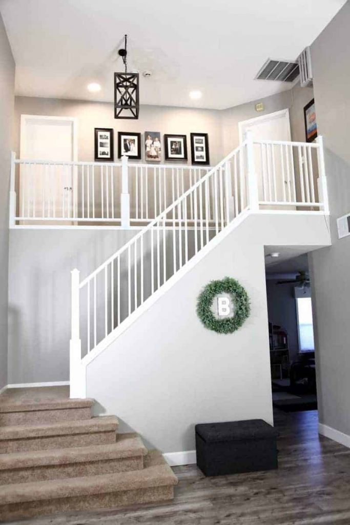 How To Build And Install A Custom Diy Stair Railing Thediyplan