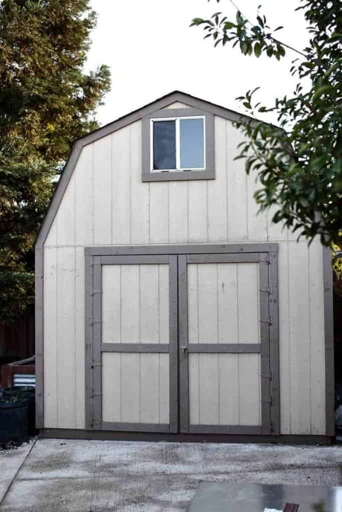 Two Story 10x12 DIY Shed