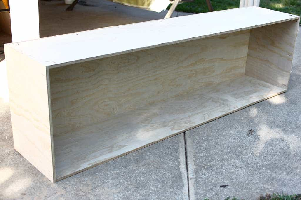 building a cabinet frame