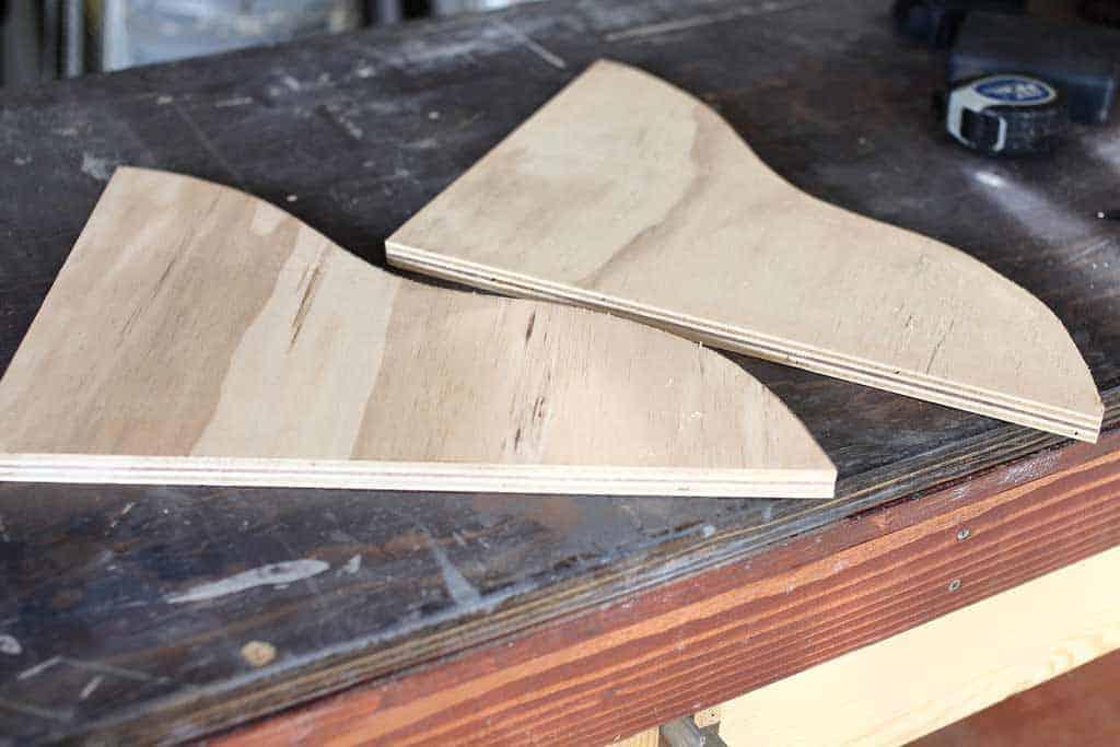 curved shelf boards
