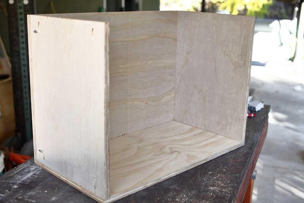 building a shelf frame